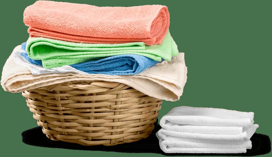 linge propre à sécher